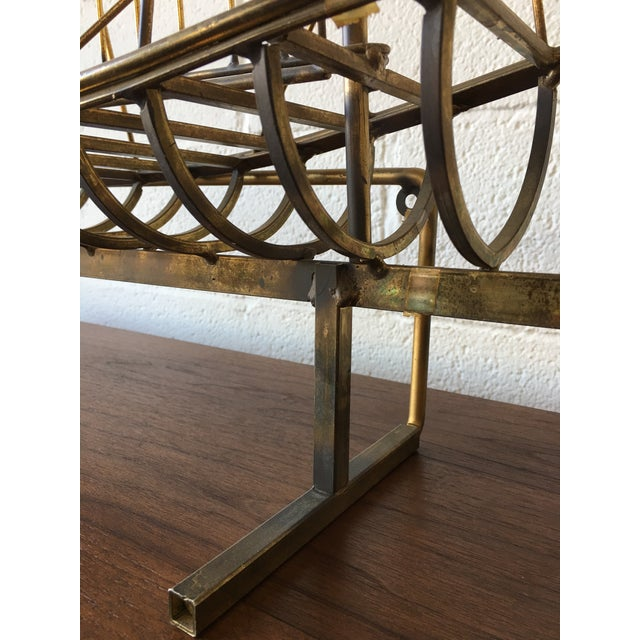 Gold C.Jere Brass Schooner Ship Sculpture For Sale - Image 8 of 11