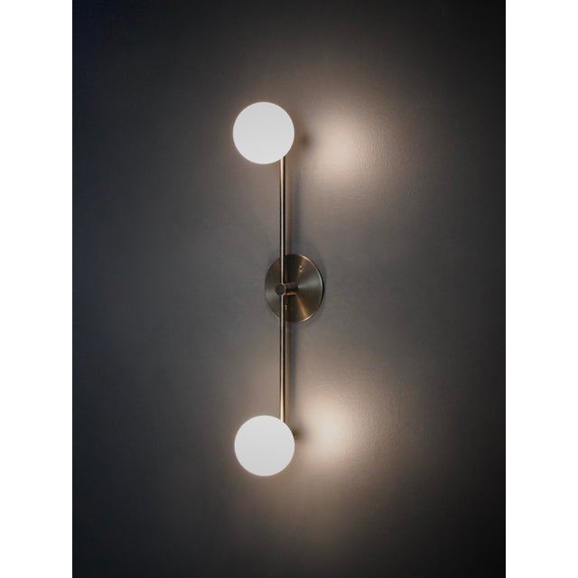 Not Yet Made - Made To Order Segment Wall Lamp or Flushmount Ceiling Fixture by Blueprint Lighting For Sale - Image 5 of 8