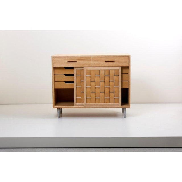 Edward Wormley for Dunbar Credenza Signed, Us, 1960s For Sale - Image 6 of 12
