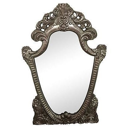 Hand Carved Ornate Mirror - Image 1 of 5