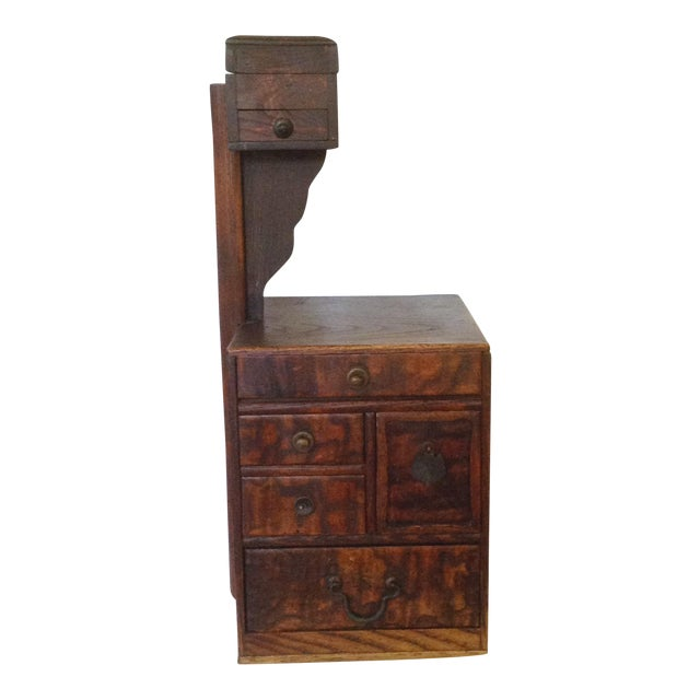 Antique Japanese Sewing Box For Sale