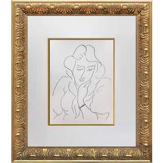 """Abstract Henri Matisse Original Lithograph """"Lydia"""" For Sale"""
