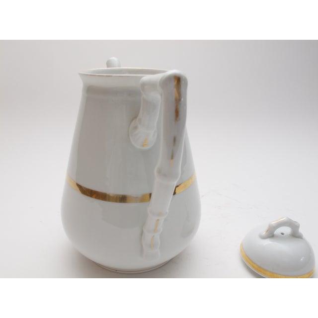 Wedding Band China Antique Coffee Pot C. 1890s - Image 4 of 5