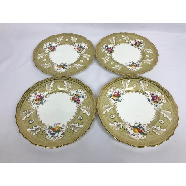 """Cauldon England for Tiffany New York 9"""" Dinner/Luncheon Plates - Set of 12 For Sale In Portland, OR - Image 6 of 9"""