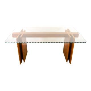1970s Danish Modern Gustav Gaarde for Trekanten Dining Teak Table For Sale