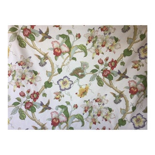 "P Kaufmann Fabric ""Large Floral"" 10 Yards For Sale"