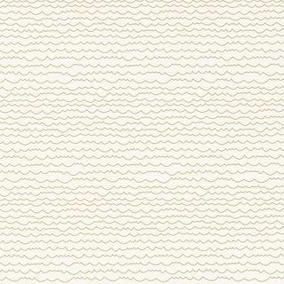 Sample - Schumacher Waves Wallpaper in Sand Preview