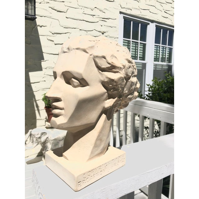 Plaster Mid 20th Century Vintage Caproni Brothers Plaster Sculpture For Sale - Image 7 of 7