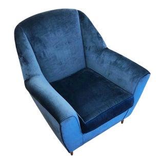 1960s Italian Mid-Century Armchair For Sale