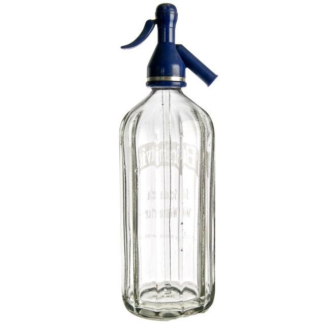 Vintage British Britvic Seltzer Bottle - Image 2 of 2