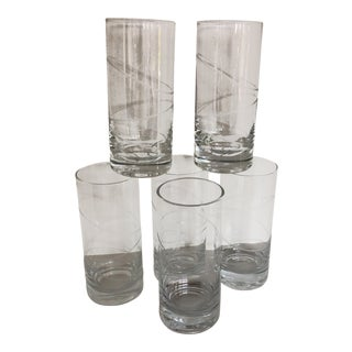 Mikasa Hi-Ball or Water Glasses - Set of 6 For Sale