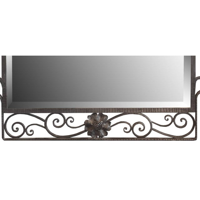 French Fer Forge Mirror - Image 2 of 4