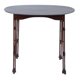 Oval Mahogany Regency Table For Sale