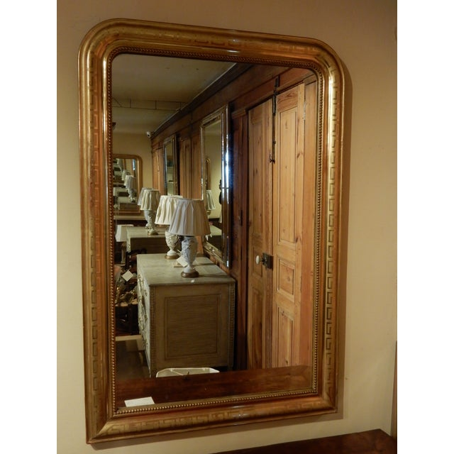 Louis Philippe 19th C. Louis Philippe Mirror For Sale - Image 4 of 5