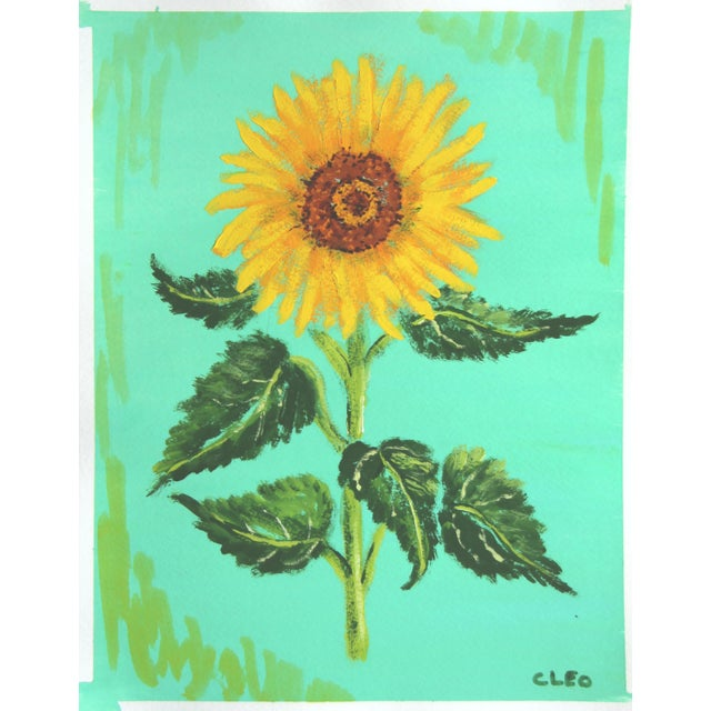 Chinoserie Botanic Tropical Leaves Painting by Cleo Plowden For Sale - Image 9 of 11