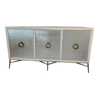 Hollywood Regency Bernhardt Salon Media Console For Sale