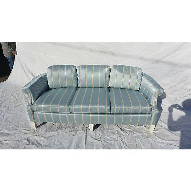 French -Style Petite Sofa - Image 2 of 6