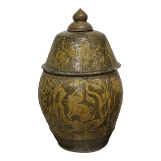 Monumental Antique Chinese Vase Circa 17thc For Sale