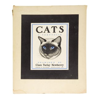 Cats: A Portfolio of Prints by Clare Turlay Newberry For Sale