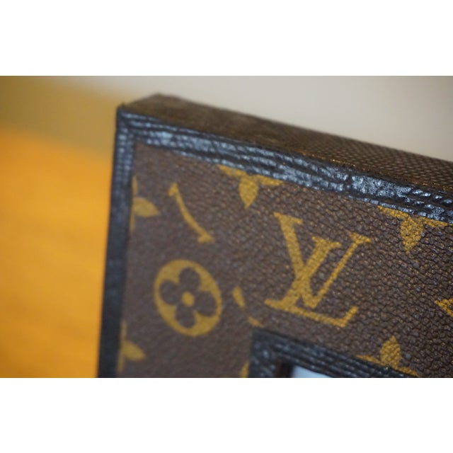 Louis Vuitton Leather Photo Frame For Sale - Image 5 of 5