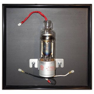 Rare Vacuum Tube Wall Sculpture. Circa 1950. Bill Reiter, Sculptor. For Sale