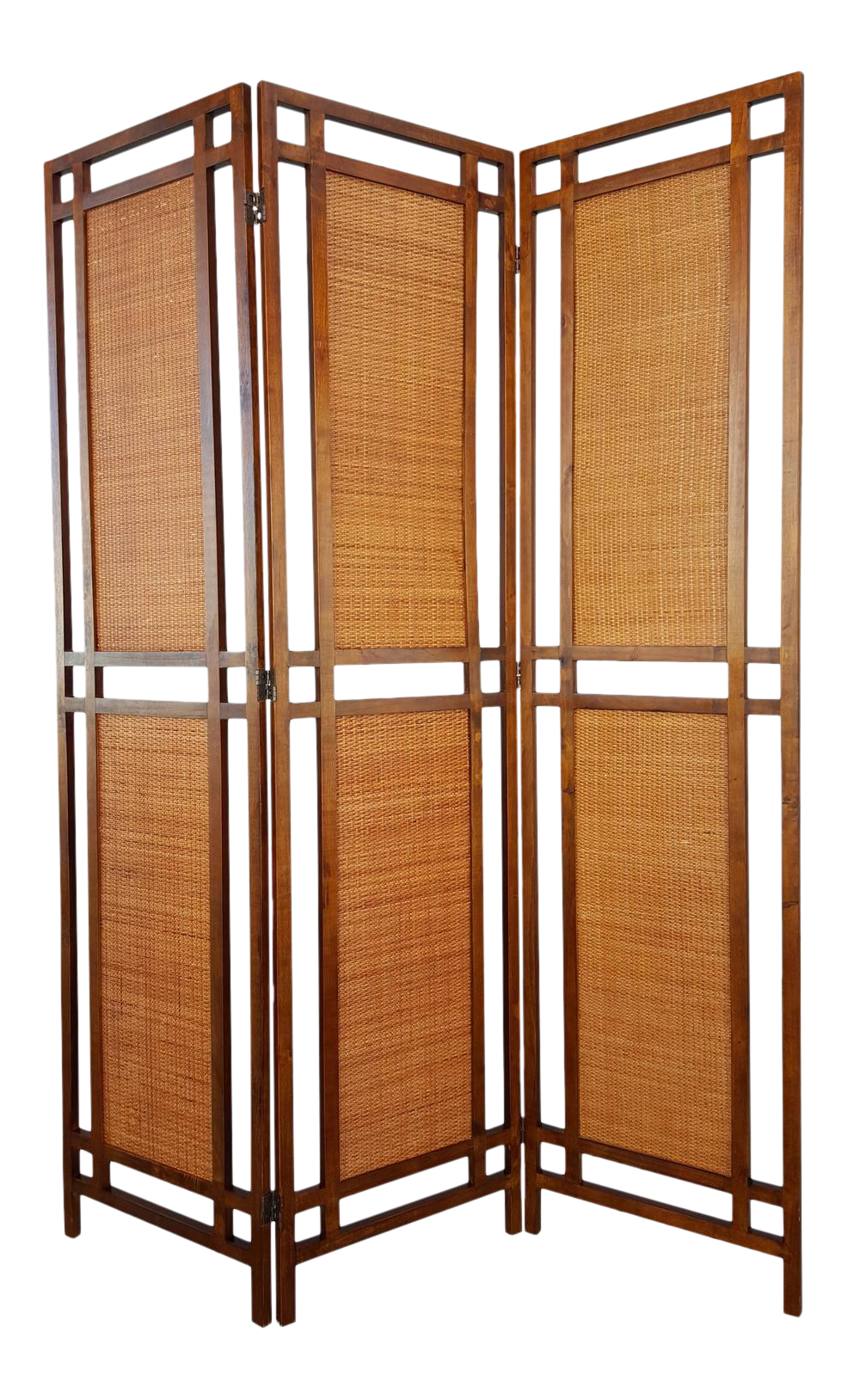 Mid Century Modern Room Divider Screen Chairish