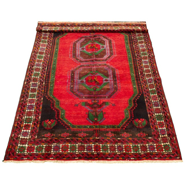 - One-of-a-kind handmade rug — only one in stock. - Handwoven in Turkey. - 100% wool. - Handmade rugs are typically...