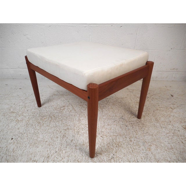 Danish Modern Lounge Chair and Ottoman by Bernstorffsminde Møbelfabrik For Sale In New York - Image 6 of 13