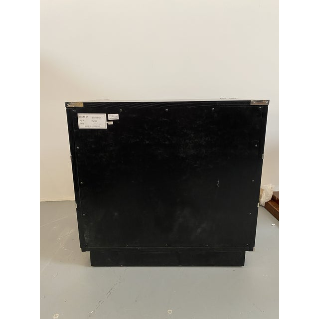 American Lexington Furniture Black Chest of Drawers For Sale - Image 3 of 6