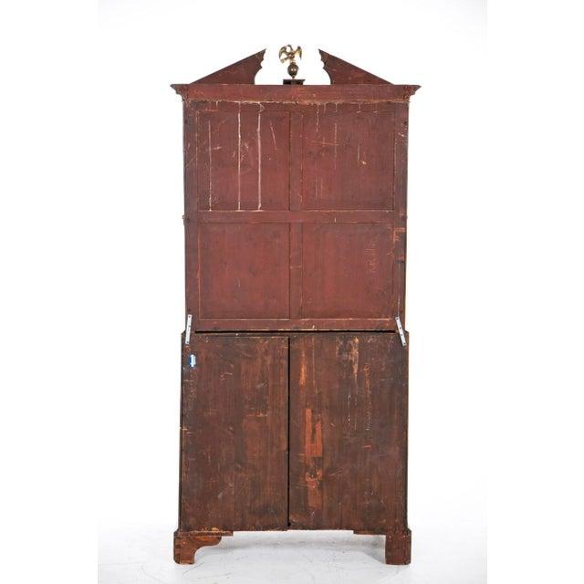 Mid 18th Century Georgian Secretaire Bookcase For Sale - Image 4 of 8