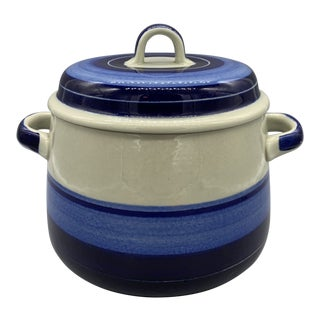 Rorstrand's Mira Mare 1.5 Quarts Round Casserole For Sale