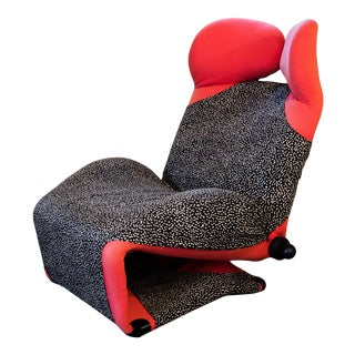 """1980s Vintage Toshiyuki Kita """"Wink"""" Chair by Cassina For Sale"""