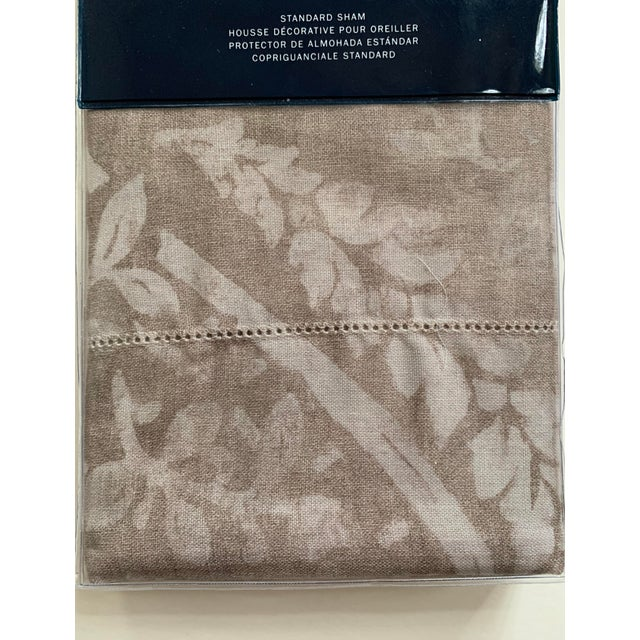 American Ralph Lauren Sonoma Valley Natural Standard Pillow Sham For Sale - Image 3 of 7