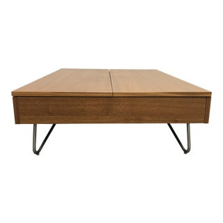 BoConcept Walnut Coffee Table For Sale