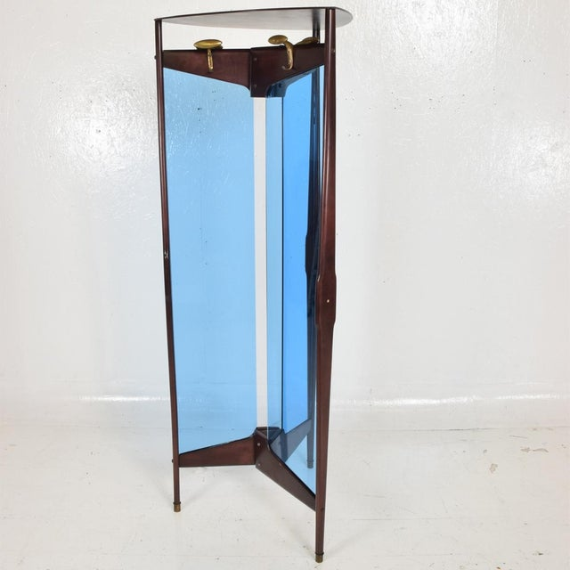 Mid-Century Modern Italian Coat Rack Room Divider After Ico Parisi For Sale In San Diego - Image 6 of 9