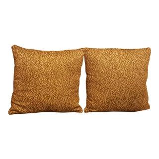 Leopard Print Matching Pillows - A Pair