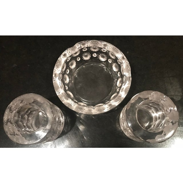 1920s Antique Lalique Tokyo Ashtray and Cigarette Holders - 3 Pieces For Sale In West Palm - Image 6 of 11