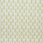 Sample - Schumacher x Molly Mahon Leaf Wallpaper in Grass Green