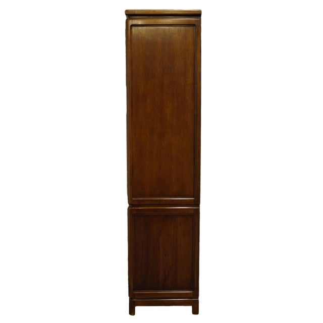 Brown Vintage Thomasville Furniture Mystique II Asian Style Armoire For Sale - Image 8 of 12