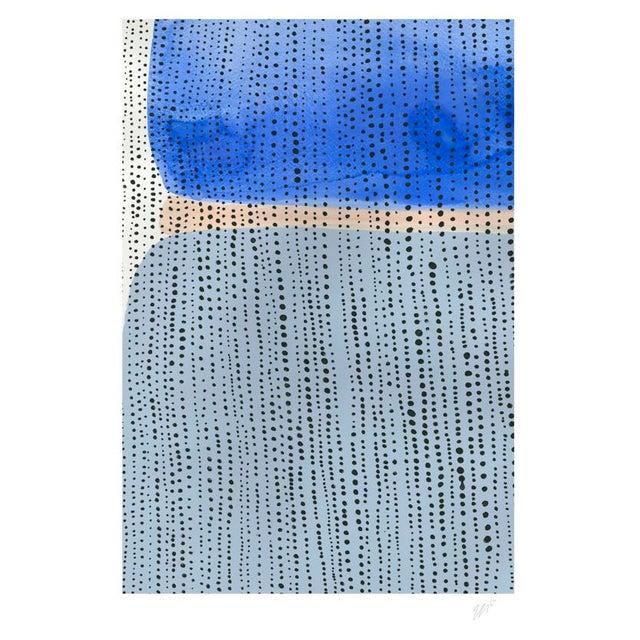 "Shorelines V Watercolor Print - Perspective B - 8"" x 10"" - Image 2 of 3"