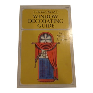 1960s Window Decorating Guide Book For Sale