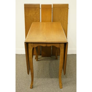 1950s French Country Drexel Heritage Breton Collection Drop-Leaf Dining Table Preview