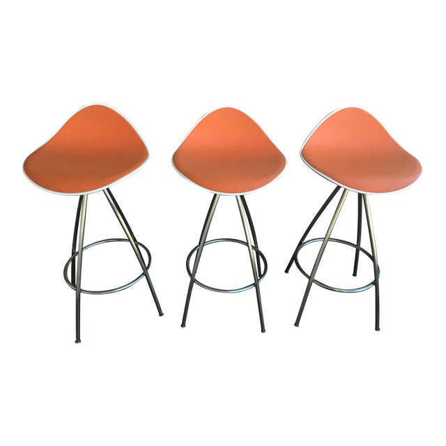 Onda Counter Stools - Set of 3 - Image 1 of 3