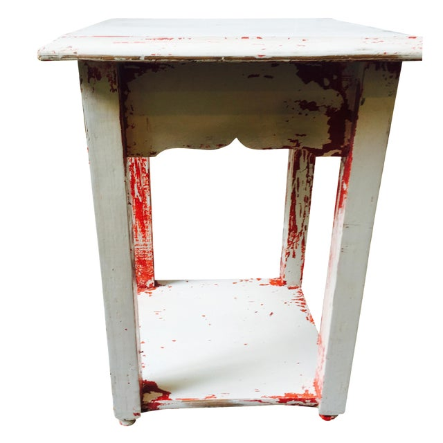 Shabby Chic Side Table - Image 1 of 6