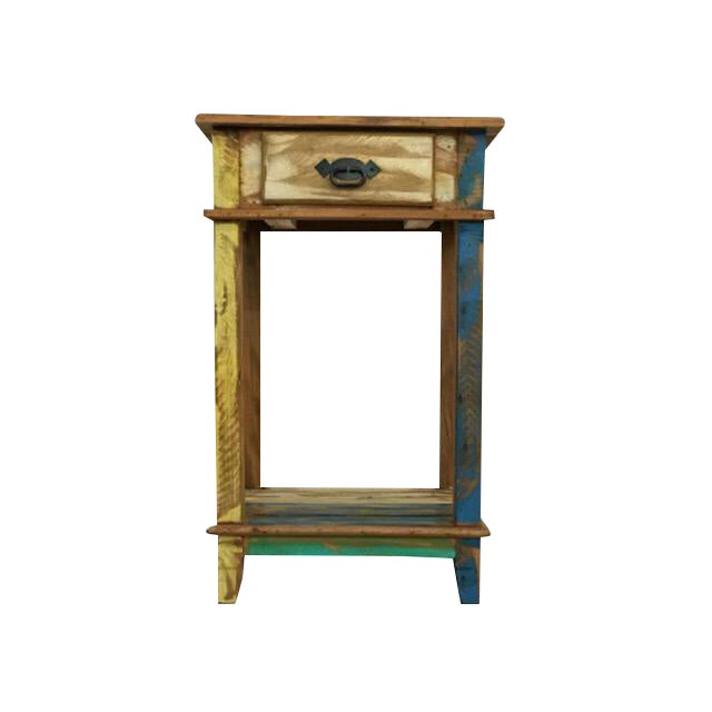 Reclaimed Wood Nightstand For Sale