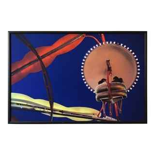 Screen Print of Carnival Ride For Sale