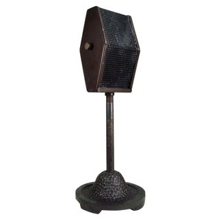 Vintage 1930s Bi-Directional Ribbon Microphone For Sale