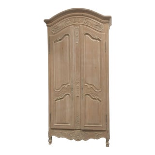 Tall Narrow French Country Cabinet For Sale