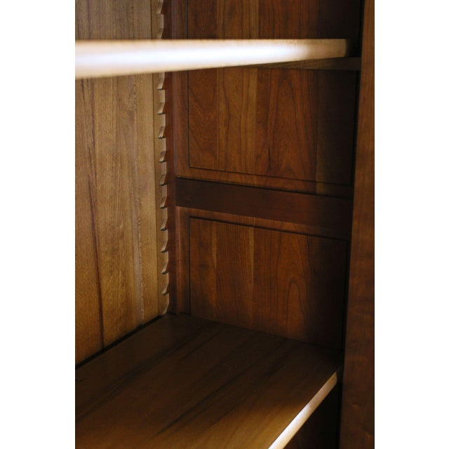 Coffee Grange French Cherry Louis Philippe Style Bookcase Cabinet For Sale - Image 8 of 13