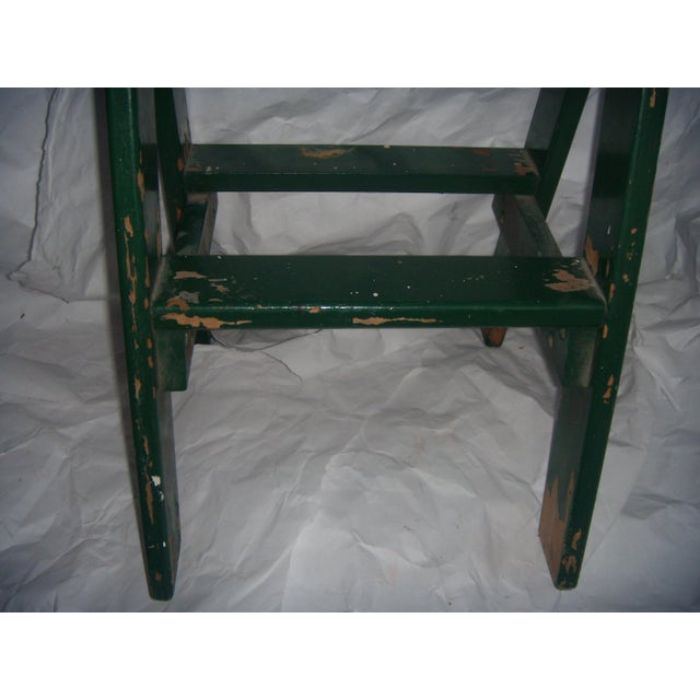 Old Country Step Stool For Sale - Image 4 of 6